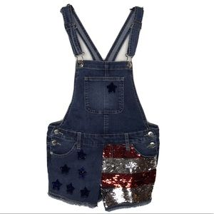 Justice Short Overalls